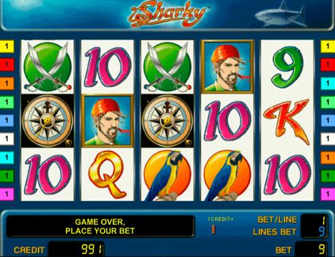 Ігровий автомат Sharky в казино Вулкан